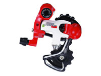 Rear Derailleur [White/Red]